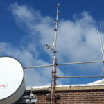 New antenna under test